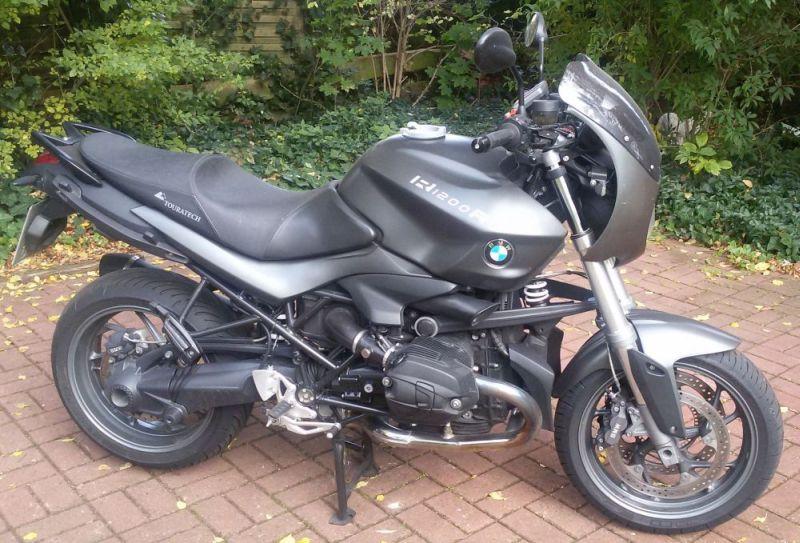 Meine Nachtschwarze R1200r Www Bmw Bike Forum Info