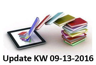 : Wochenupdate Kw 09-13-2016