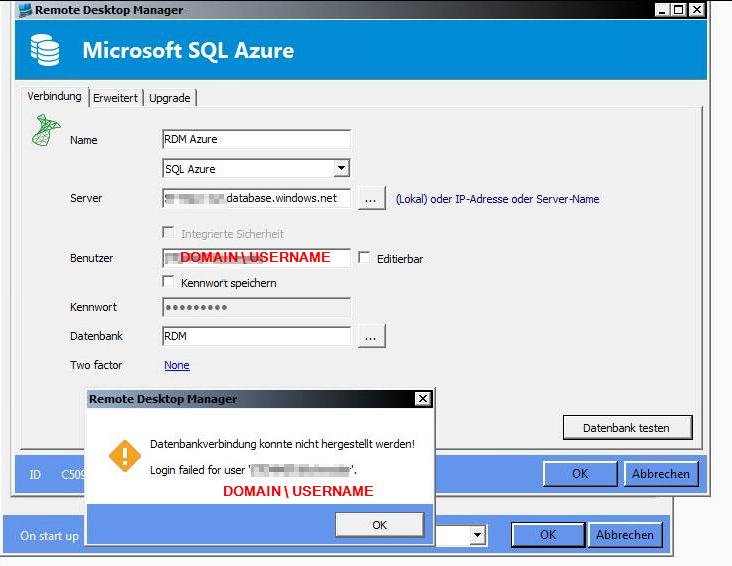 RDM and Azure Export - Remote Desktop Manager - Support