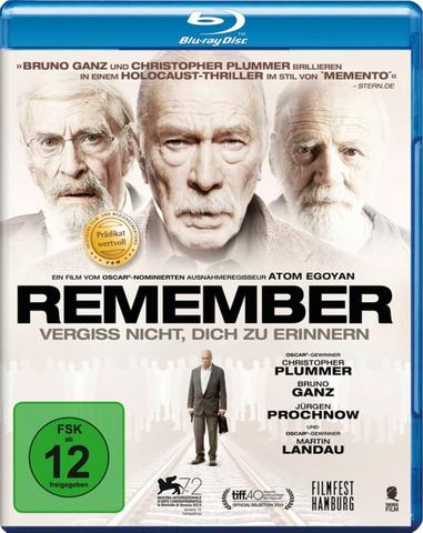 download Remember.Vergiss.nicht.dich.zu.erinnern.2015.German.DL.1080p.BluRay.AVC-FYI