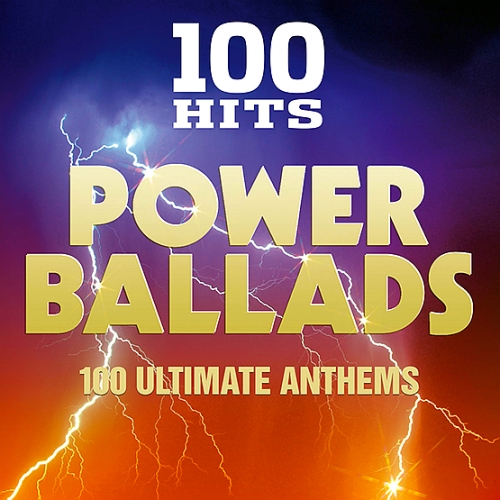 100 Hits - Power Ballads (2016)