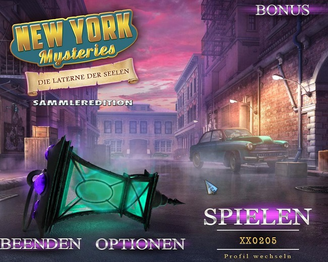 New York Mysteries 6: Die Laterne der Seelen Sammleredition (Deutsch)