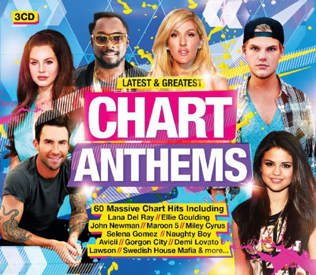 Latest and Greatest Chart Anthems [3CD] (2016)