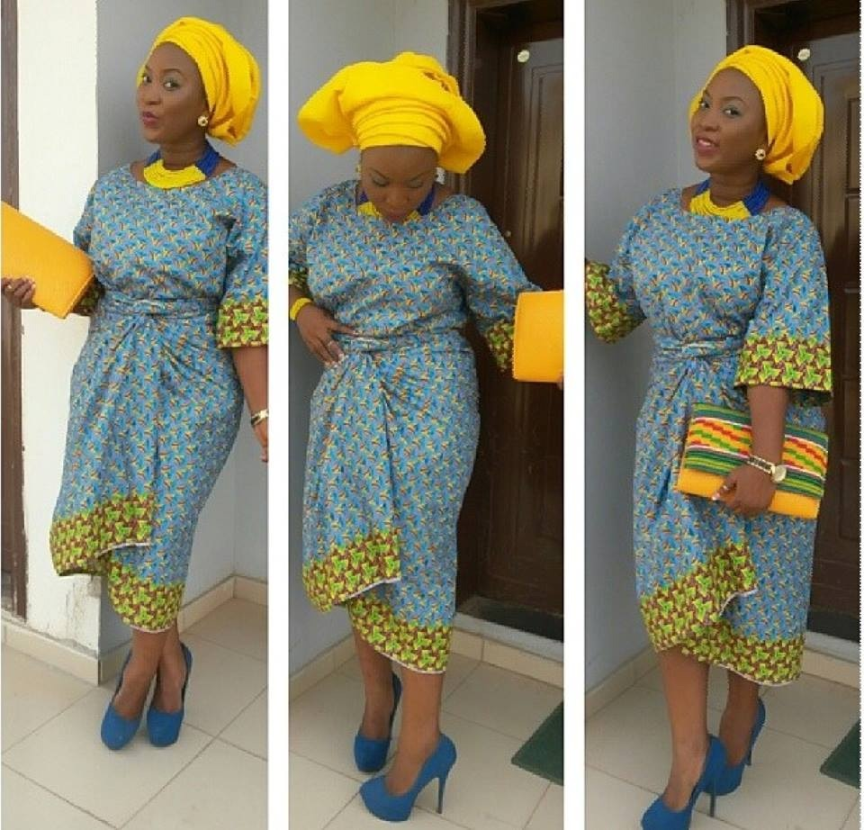Lace And Ankara Asoebi Styles On Instagram Fashion Qe