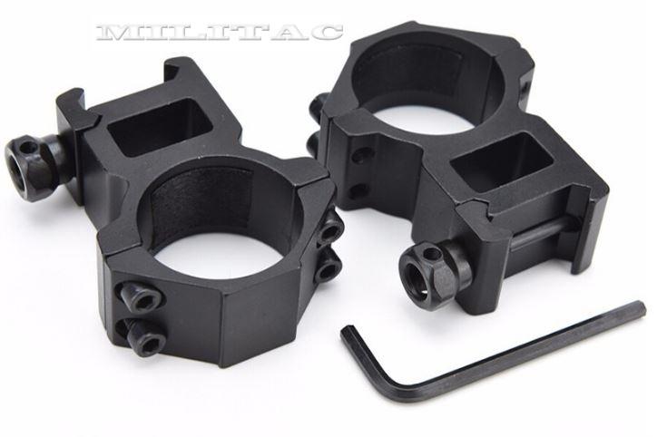 sehr hohe montage ringe 30 mm zielfernrohr jagd f r 21mm. Black Bedroom Furniture Sets. Home Design Ideas