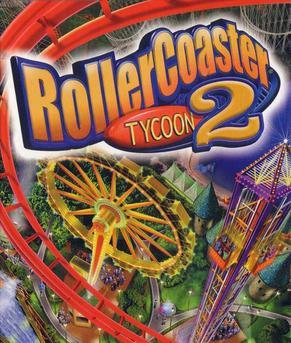 Rollercoaster Tycoon 2 Deutsche  Texte, Menüs Cover