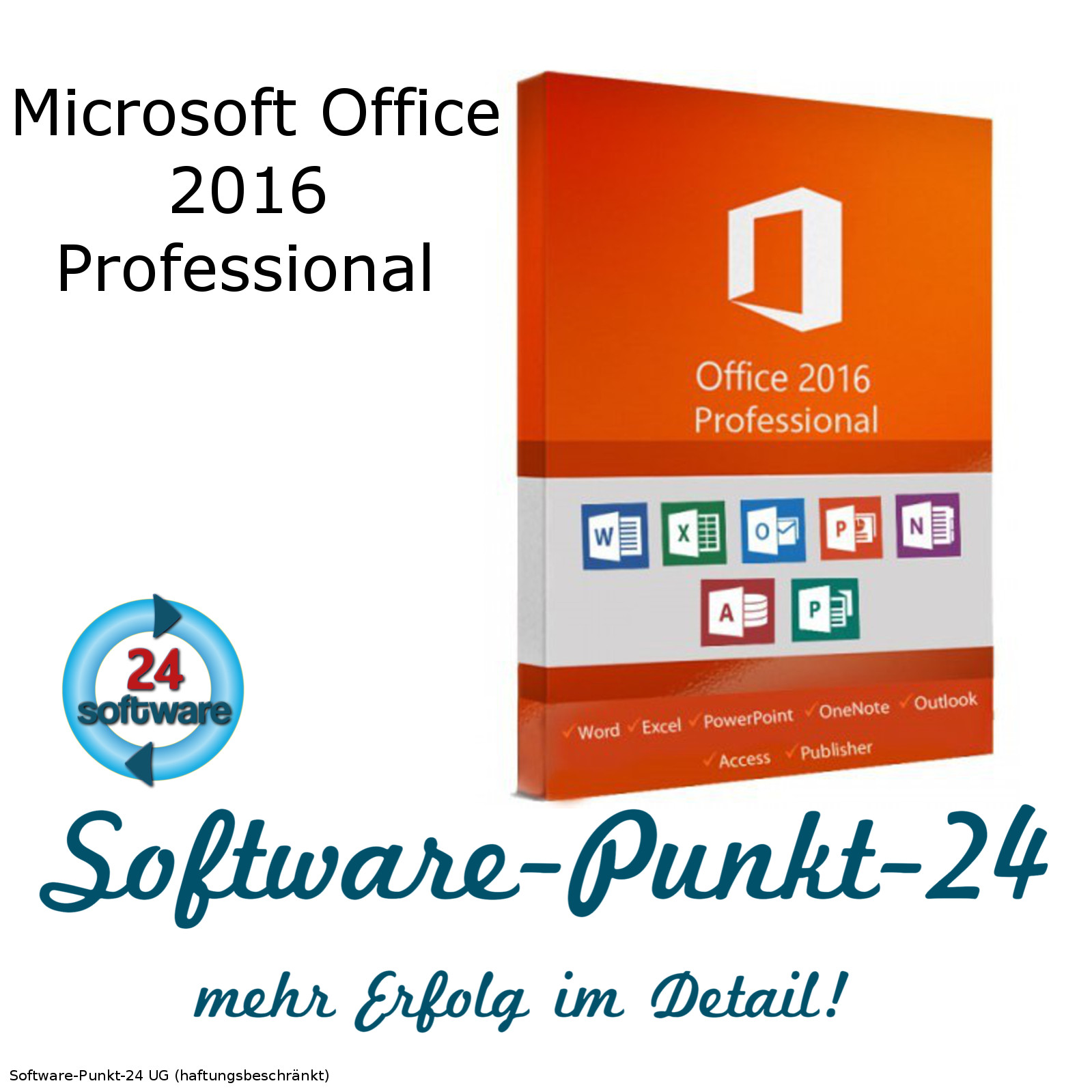 microsoft office 2016 pro professional vollversion original. Black Bedroom Furniture Sets. Home Design Ideas