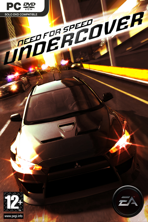 Need for Speed: Undercover Deutsche  Texte, Stimmen / Sprachausgabe Cover