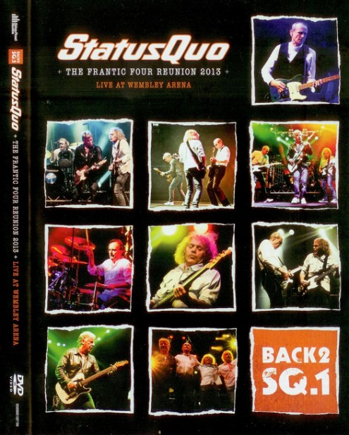 Status Quo - The Frantic Four Reunion - Live At Wembley Arena (2013) DVD9