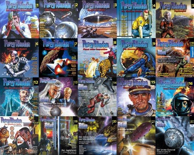 Perry Rhodan Hoerspiele 1 bis 26 seit 2002 Hoerbuch mp3