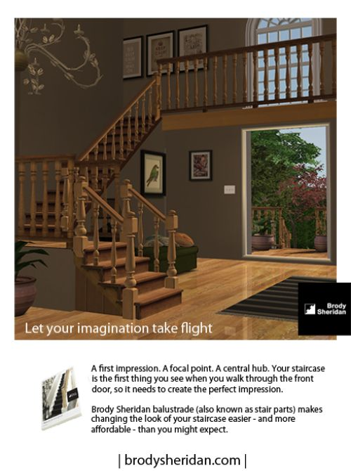 for 2 story foyer conversion