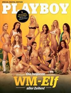 Playboy Germany Special Digital Edition - Die heisseste Wm-Elf aller Zeiten 2014