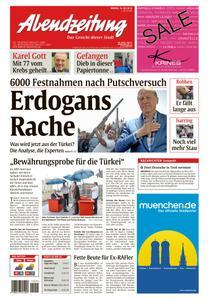Abendzeitung Muenchen - 18 Juli 2016