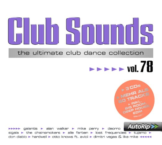 Club Sounds Vol.78 (2016)