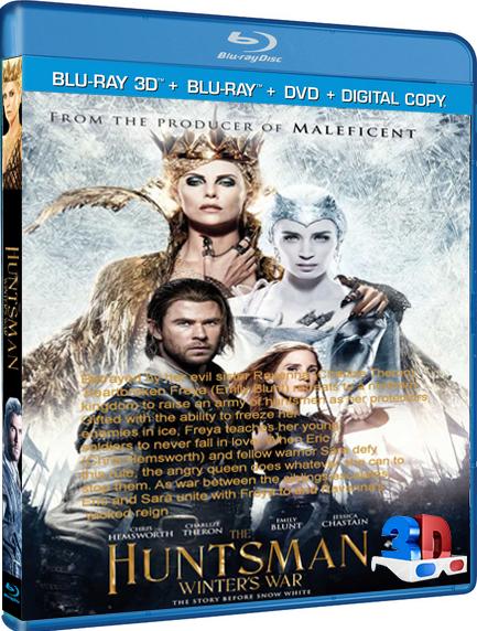 Il cacciatore e la regina di ghiaccio (2016) [TEATRICAL] 3D H-OU 1080p DTS ENG ITA AC3 ITA ENG SUBS by BINNU