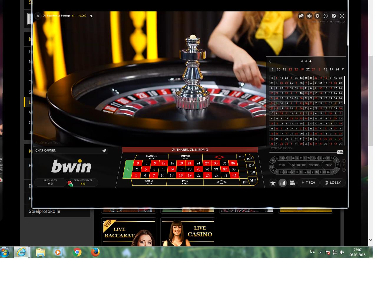 permanenzen online casinos