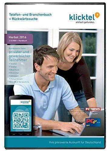 download KlickTel.Telefon-.und.Branchenbuch.inkl.Rueckwaertssuche.Herbst.2016.German-BLZiSO