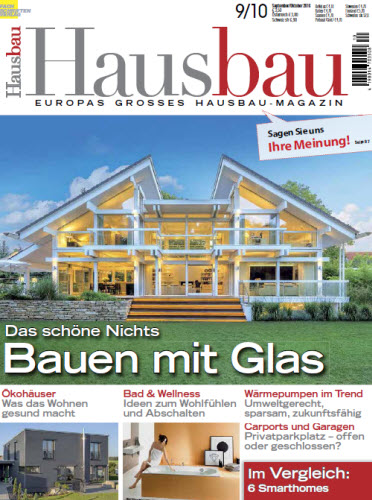 hausbau magazin september oktober no 09 10 2016 boerse sx boerse bz alternative. Black Bedroom Furniture Sets. Home Design Ideas