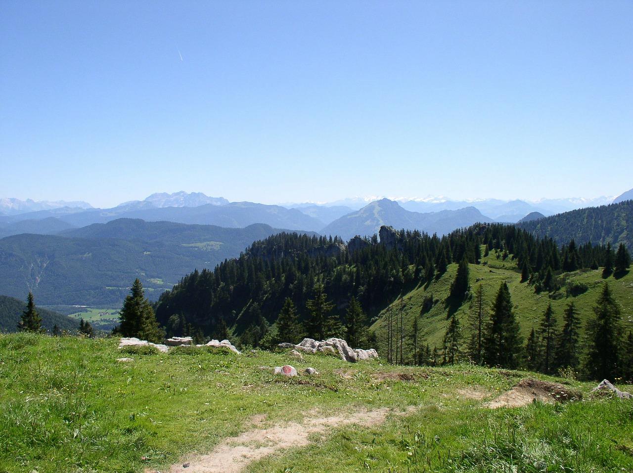 Almwiese vor der Kampenwand