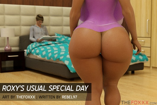 TheFoxxx - Roxy's Usual Special Day