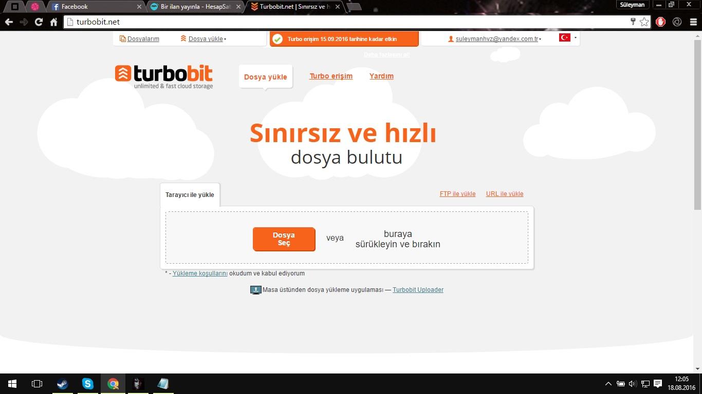Turbobit 30 Günlük Hesap