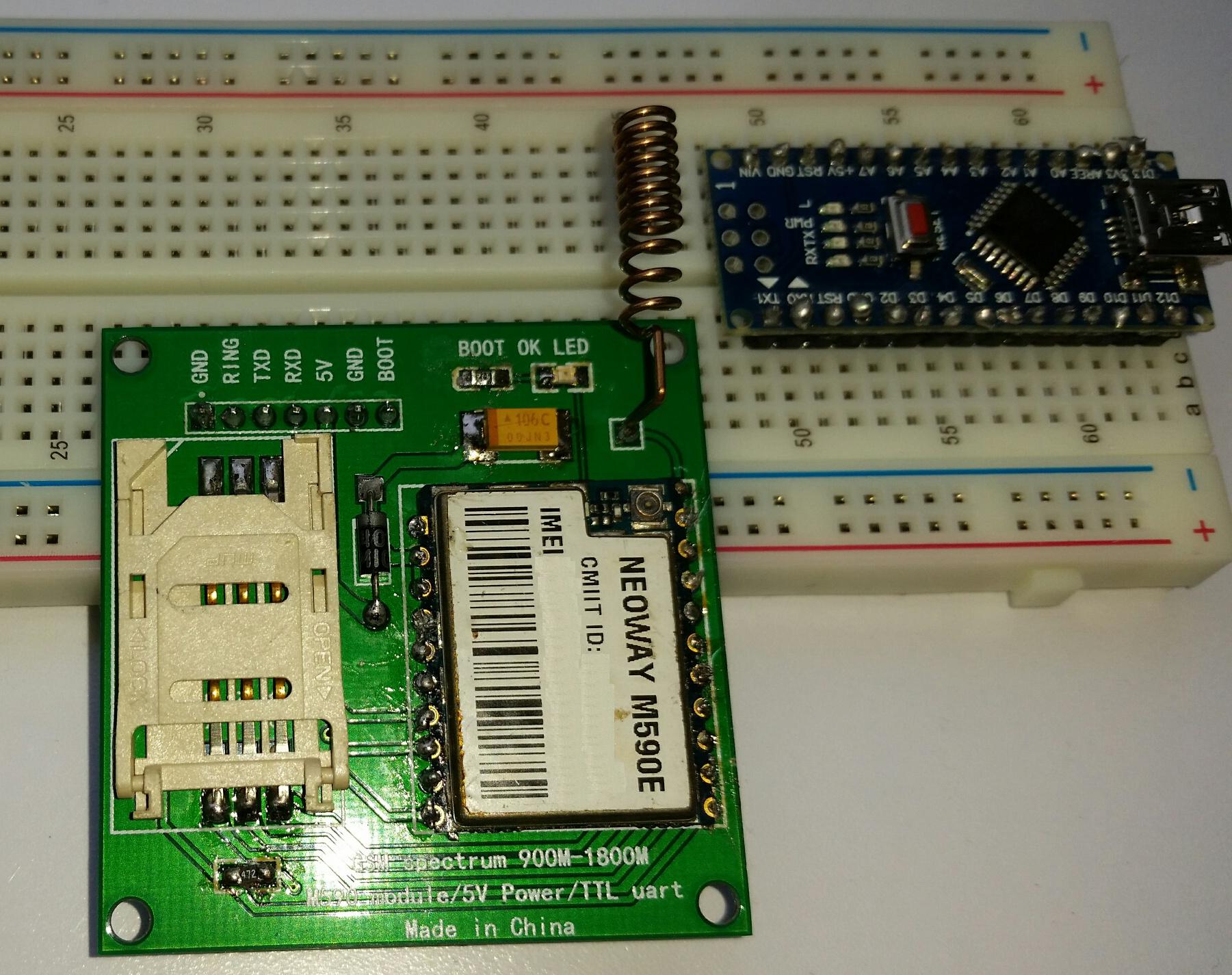 robotstorecz Dccduino Nano V30 ATmega328