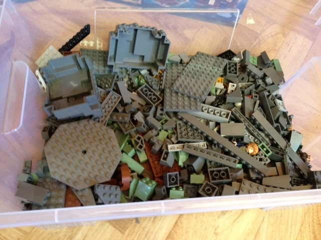 Lego Hobbit 79018 79011 79016 Lego Bei 1000steinede