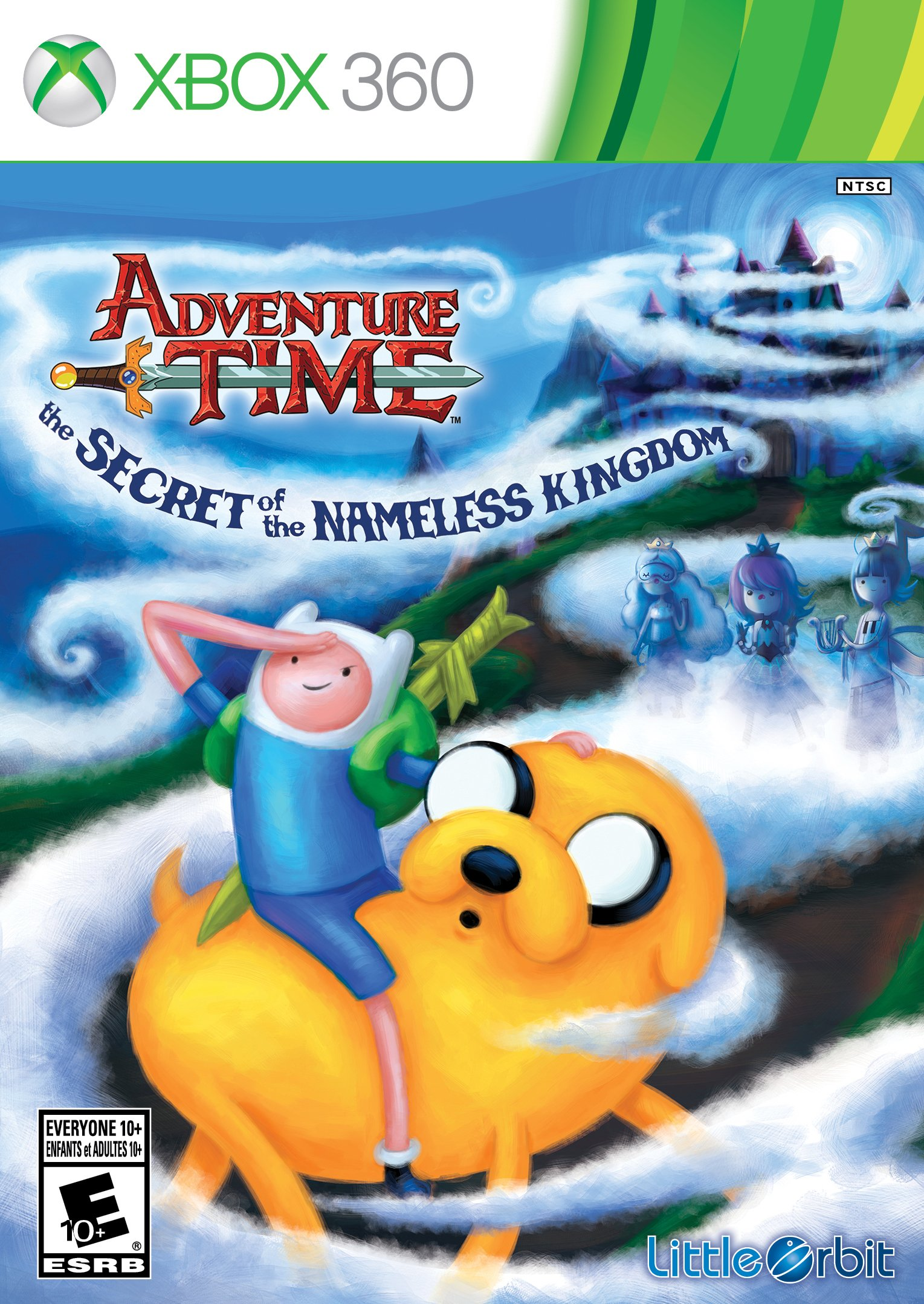 Adventure Time The Secret of the Nameless Kingdom Xbox360-Complex
