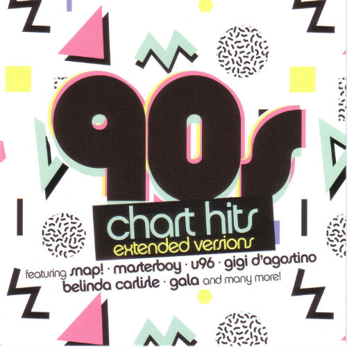 VA - 90s Chart Hits - Extended Versions (2016)