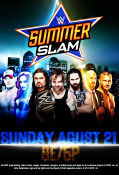 Wwe SummerSlam 2016 Ppv Deutsch 720p 3000K Web-DL h264-WU