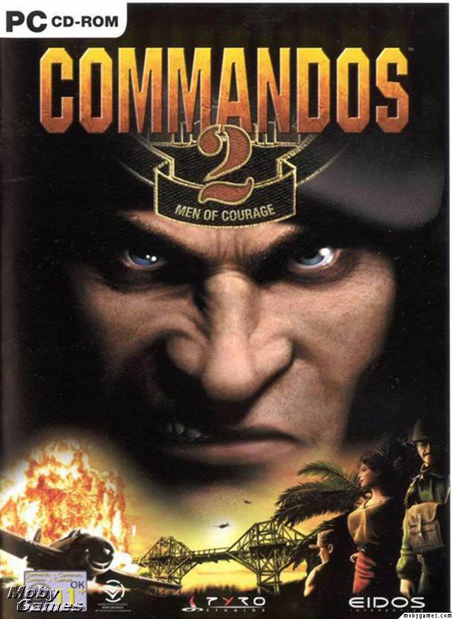 Commandos 2: Men of Courage Deutsche  Texte, Untertitel, Menüs, Stimmen / Sprachausgabe Cover
