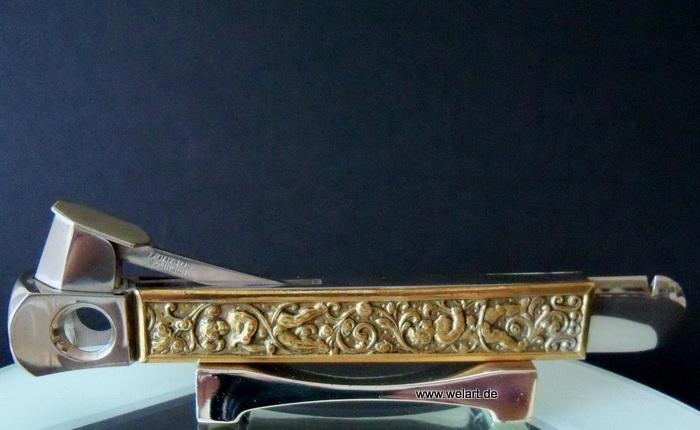 alter reich verzierter zigarrenabschneider dottatus solingen cigar cutter ebay. Black Bedroom Furniture Sets. Home Design Ideas