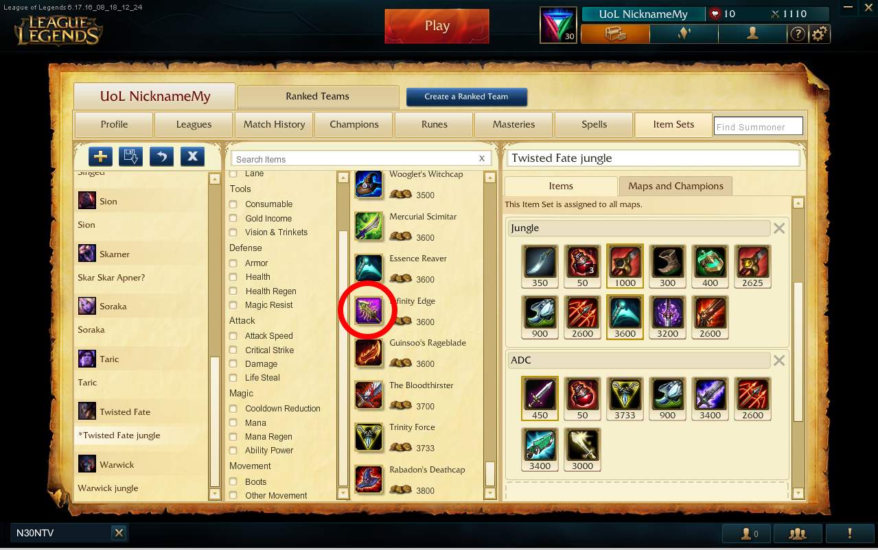How To Change Item Pictures Ingame League Of Legends Lol Forum On Mobafire