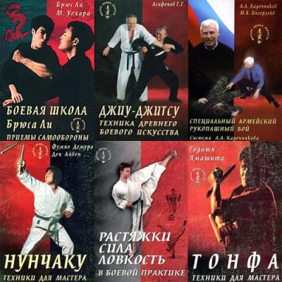 Серия - мастера боевых искусств (23 книги) (1996-2003)