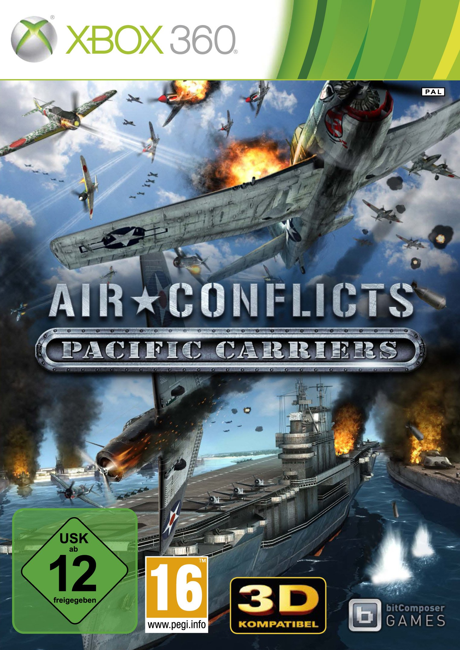 Air Conflicts Pacific Carriers Pal Xbox360-Complex
