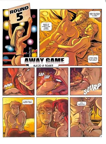 Порно игры комикс