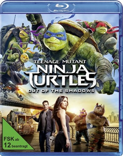 : Teenage Mutant Ninja Turtles 2 Out of the Shadows 2016 German BDRip ld XViD MULTiPLEX