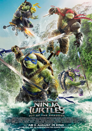: Teenage Mutant Ninja Turtles 2 Out of the Shadows German Bdrip Ld German x264-PsO