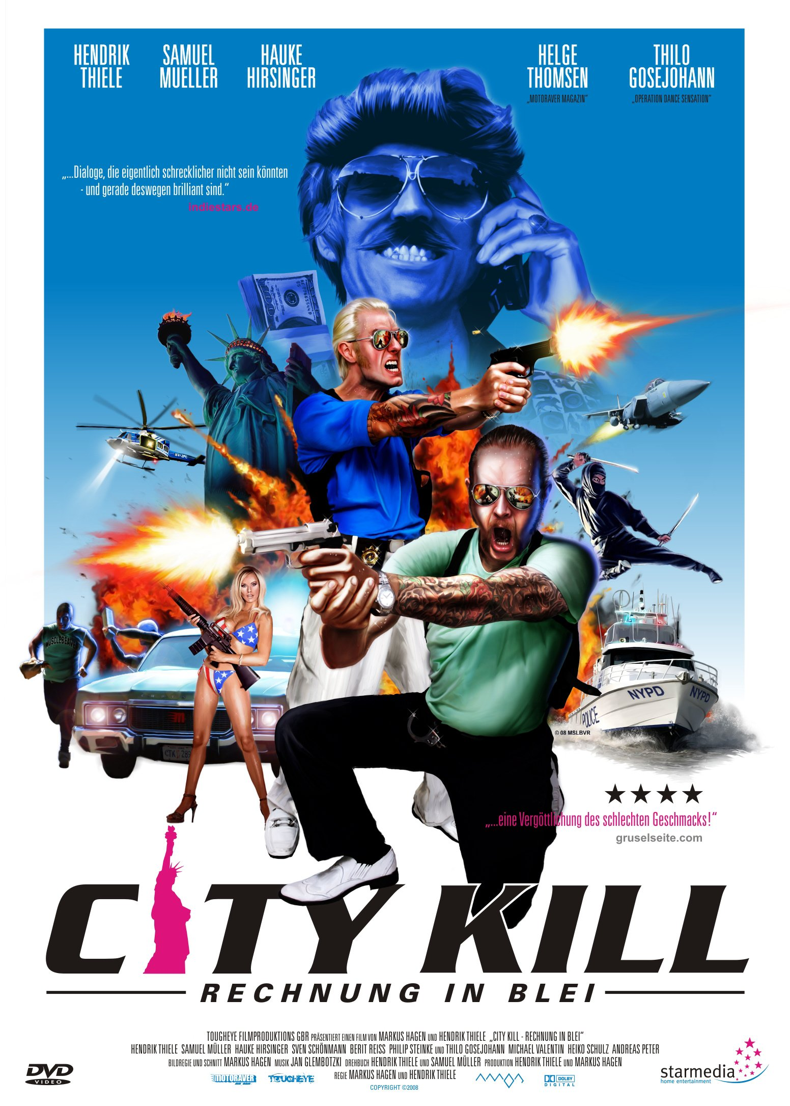 : City Kill Rechnung in Blei Dc German 2007 DvdriP x264 iNternal-CiA