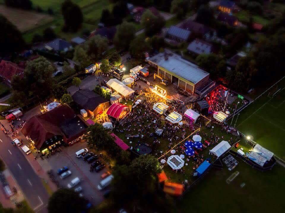 Pixxen Festival 2016 von oben