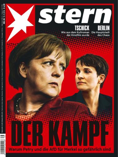 Der Stern Nachrichtenmagazin No 38 vom 15. September 2016