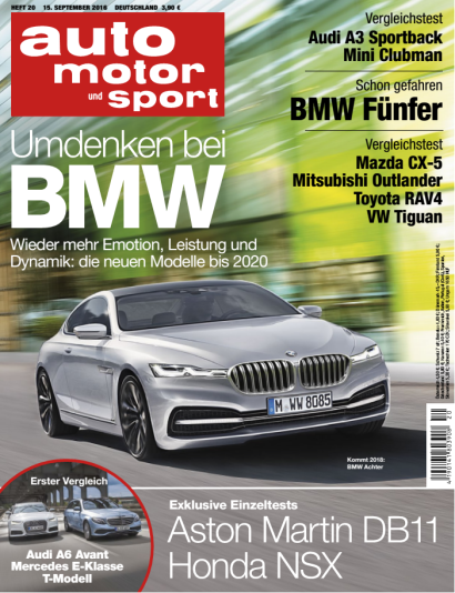 Auto Motor und Sport Magazin No 20 vom 15. September 2016