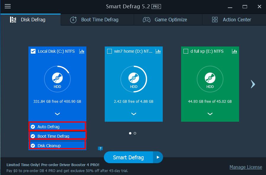 عملاق إلغاء تجزئة القرص الصلب اصدار Smart Defrag 5.2pro portable بوابة 2016 49ufdvx2.png