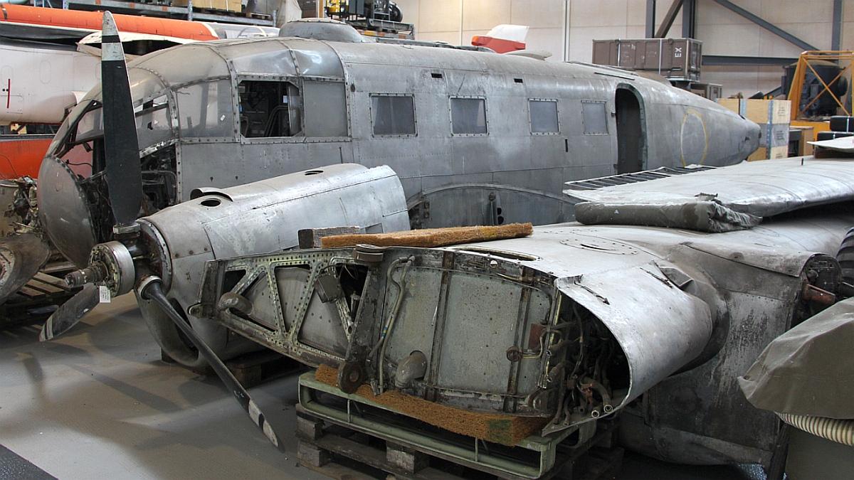 Bericht Luftwaffenmuseum Gatow Depot