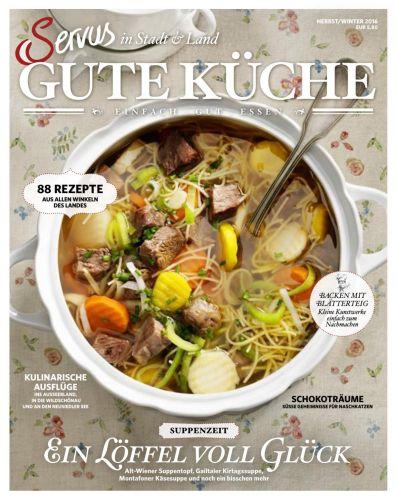 : Servus Gute Küche Magazin Herbst-Winter 2016