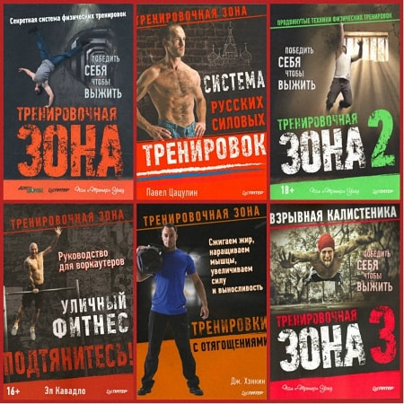 Серия - Тренировочная зона (6 книг)