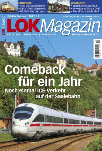 : Lok Magazin Oktober No 10 2016