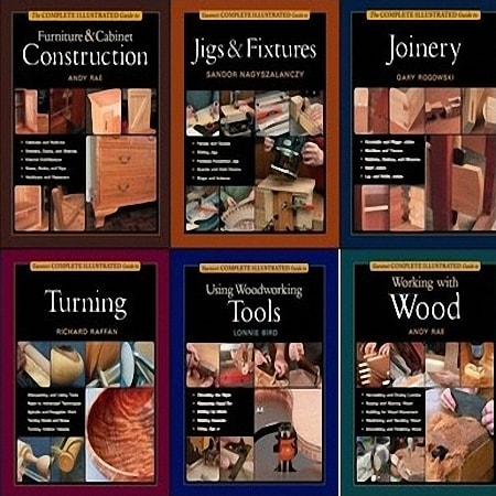 Taunton's The Complete Illustrated Guide Collection to Woodworking (14 книг)