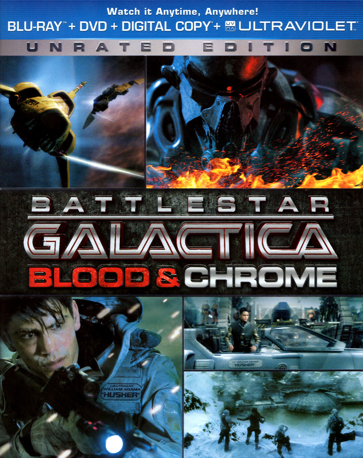 : Battlestar Galactica Blood and Chrome 2013 dual complete bluray gmb