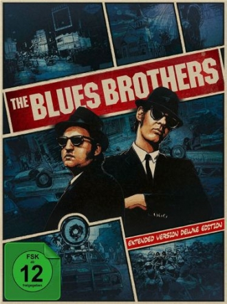 : The Blues Brothers Extended Deluxe Edition 3 Disk complete Bluray untouched german ml smy